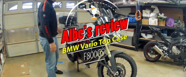 BMW Vario top case review
