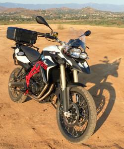F800GS dirt