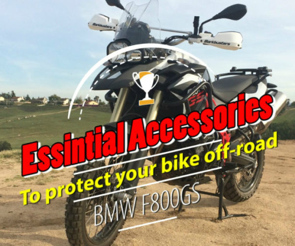 BMW F800GS Off-road Essentials Accessories