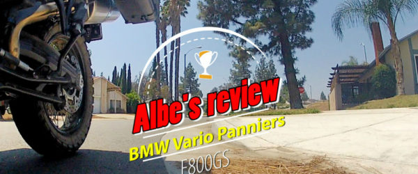 BMW Vario panniers review