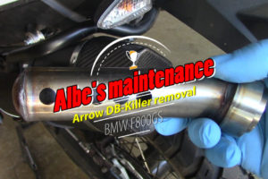 Arrow Maxi race-tech exhaust DB-Killer