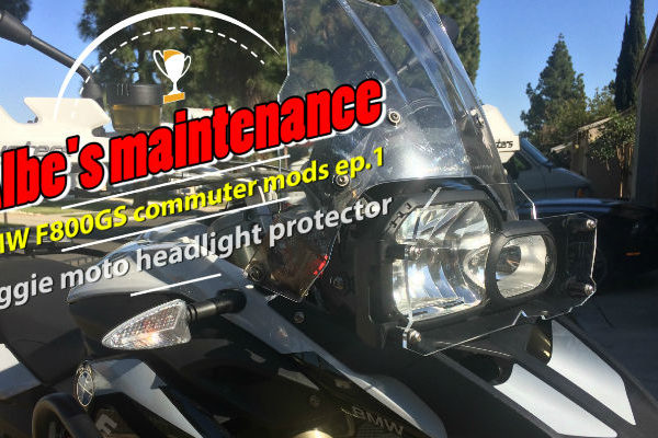 Maggie Moto clear headlight protector