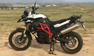 BMW F800GS, Albe's adv, adventure, motorcycle, Accessories, Altrider skid plate