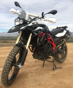 BMW F800GS, altrider skid plate, barkbusters hand guard, heed crash bar, off road