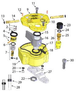Scotts steering damper diagram, albe's adv, bmw f800gs