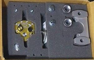 BMW F800GS, Scotts steering damper, installation, in the box, albe's adv