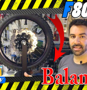 Setting up a spare set of wheels for my BMW F800GS Pt 3