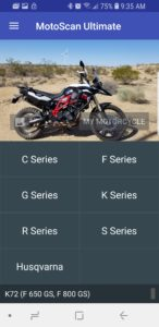albe's adv, bmw f800gs, service light reset