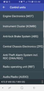 albe's adv, bmw f800gs, service light reset