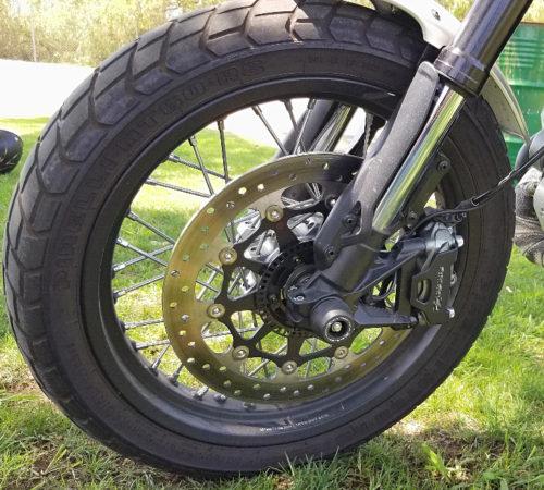 front wheel scrambler