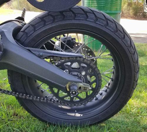 rear wheel scrambler